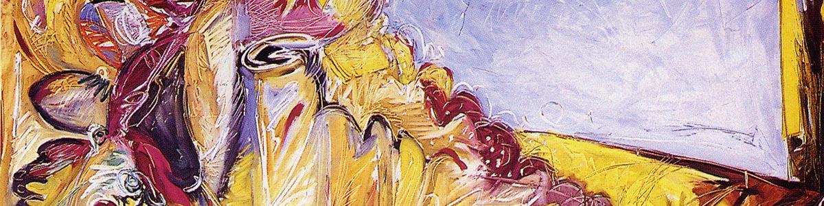 CORNUCOPIA 1991 olio su tela cm 150X200
