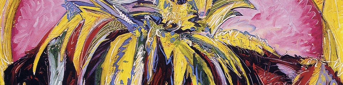 DAL MURO 1991 olio su tela cm 120X150